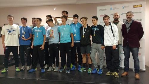 Concentración Campeonato Gallego por Equipos Junior División Honor