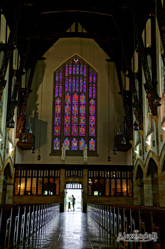 Interior of Scared Heart Church, Shadyside, Pittsburgh