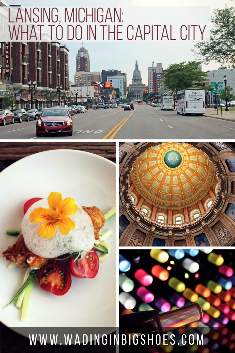 Lansing, Michigan: What To Do In The Capital City // Planning a trip to Lansing, Michigan? Check out this roundup of capital city ideas and make sure your outing is one everyone will enjoy. [via WadingInBigShoes.com]