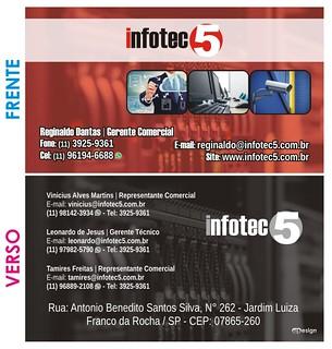Cartão de Visita - Infotec5
