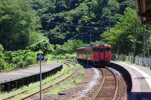 山陰本線 柴山駅と・・・ : 旅の...