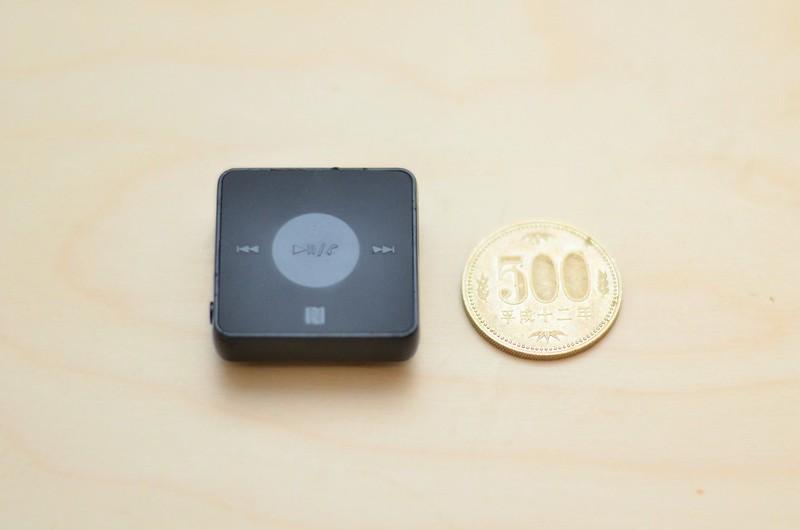 SBH20と500円玉 サイズの比較