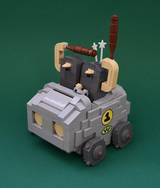 """Wacky Races """" The boulder mobile """""""