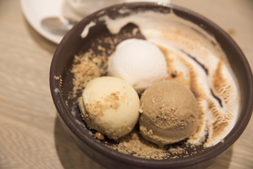 Chef's Whim Sundae, Aveline, San Francisco