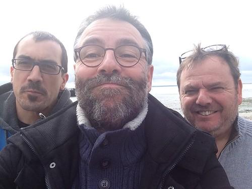 Avec  Xavier Lefrançois & Pascal Roux