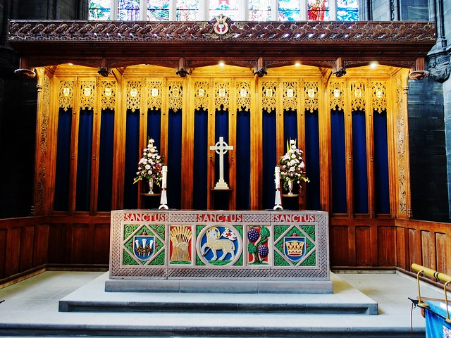 Communion Table at Paisley Abbey, Scotland