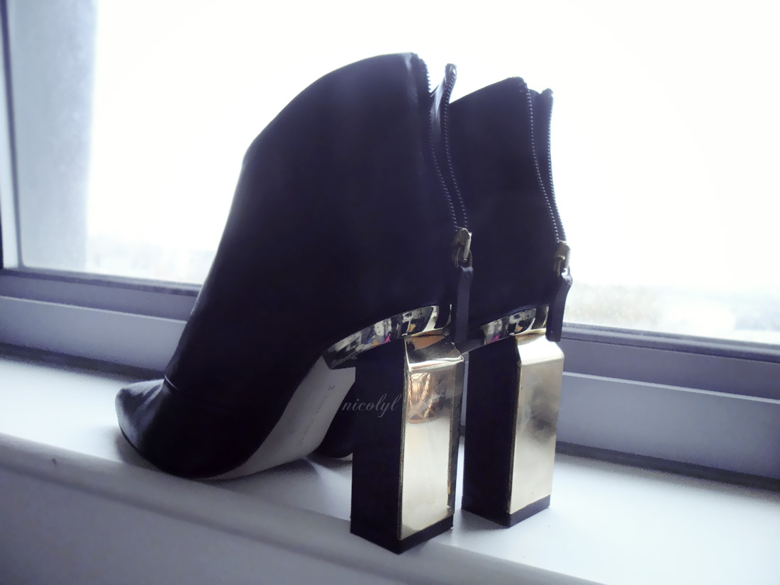 Metal Heeled Boots zara