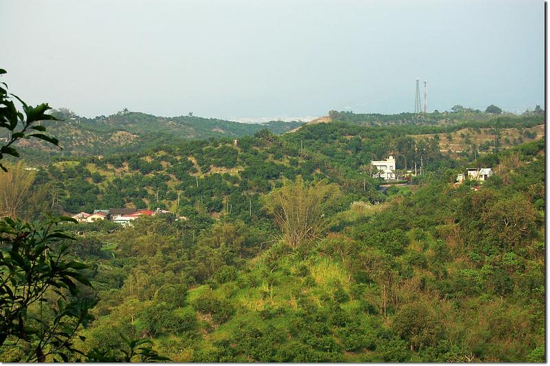 香蘭山山頂展望