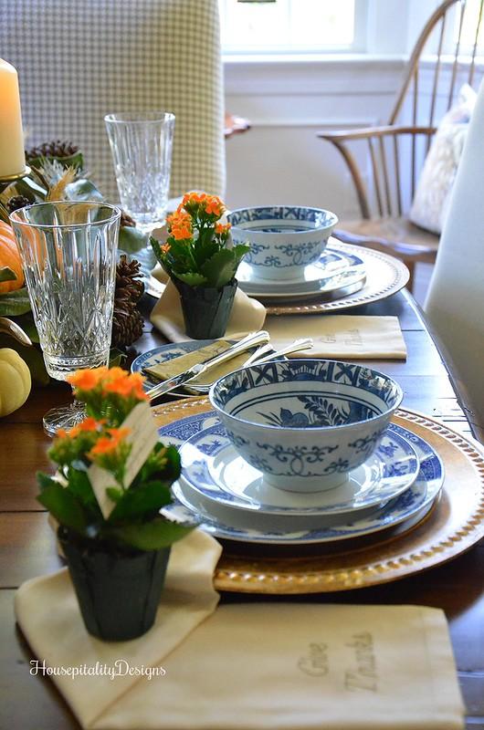 Blue and White Antique Noritake China - Housepitality Designs
