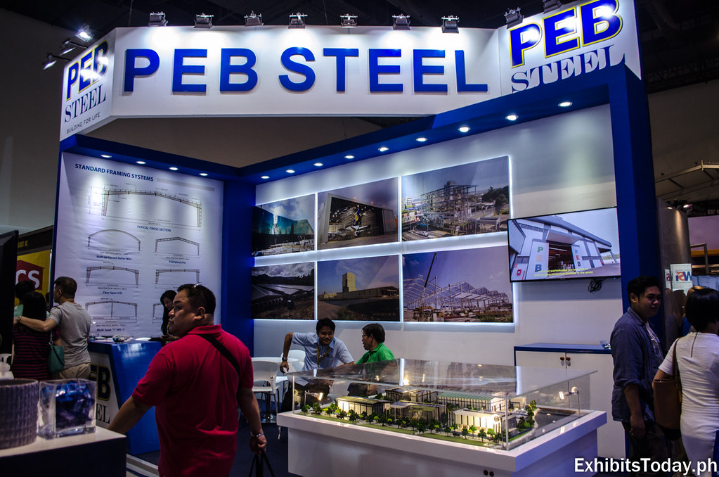 PEB Steel Exhibit Booth