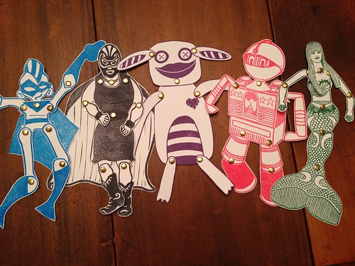Paper Dolls: Articulated Character Mash-Up