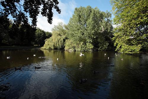 Il parco di St. Stephen's Green