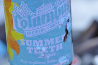 A Refreshing Bottle of Columbus Brewing Company's Summer Teeth Lager | by swampkitty
