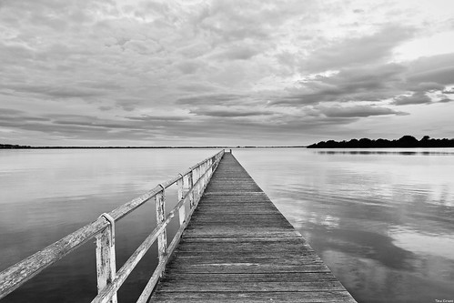 Berkeley Jetty | First Attempt B&W | | by Taha Elraaid