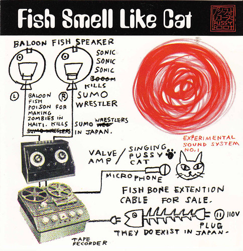 Fish Smell Like Cat Pussyfoot Uk Cd 1997 Cover Art By