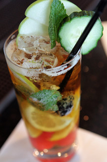 Pimm's Cup cocktail | by David Lebovitz