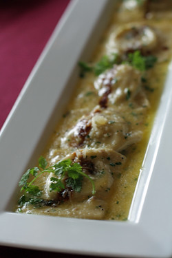 ravioli with potato | by David Lebovitz