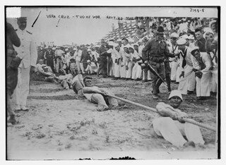 Vera Cruz -- tug of war -- Navy Vs. Marine Corps  (LOC) | by The Library of Congress