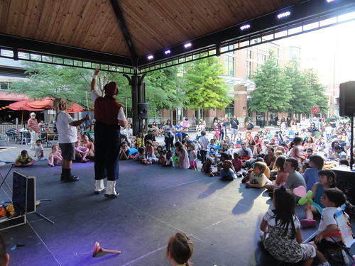 The Vaudeville Clown at Kids Night July 12th | by RockvilleTownSq