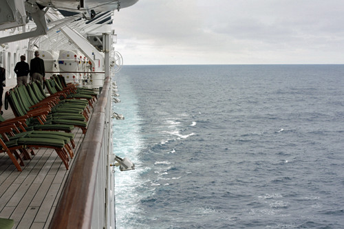 deck and ocean | by David Lebovitz