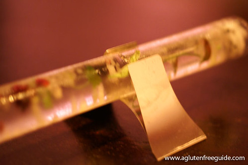 lemongrass, dragonfruit, cilantro and cucumber Alinea Restaurant Chicago Gluten-Free (17) | by yumcat