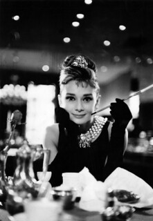 "Audrey Hepburn in ""Breakfast at Tiffany's"" 