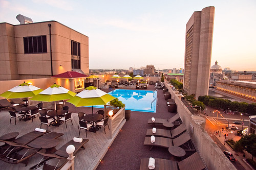 Rooftop Pool at The Colonnade Hotel, Boston | by colonnade