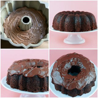 Buried Alive Bundt Cake collage | by Food Librarian