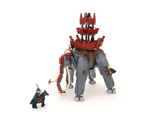 Lord Of The Rings Elephant Figure