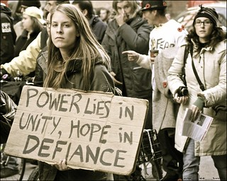 occupy toronto marches in solidarity with first nations ..... | by ana_lee_smith