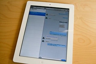 iPad 2 - iMessage | by William Hook