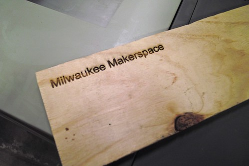 New Laser Cutter Opening Night | by milwaukeemakerspace