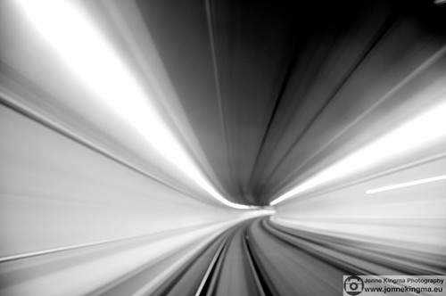 Tunnel in motion | by Just a guy who likes to take pictures