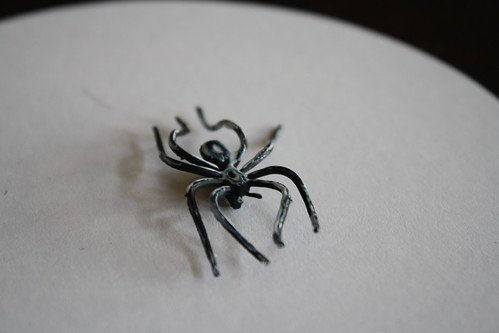 Homemade Glitter Spider Rings | by Heather Christo