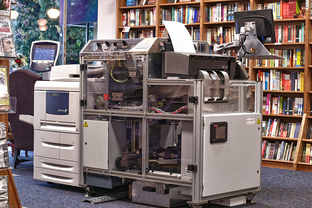 HDR Espresso Book Machine