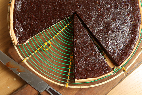 chocolate tart | by David Lebovitz