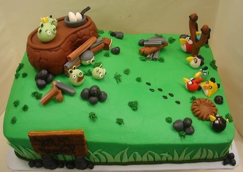 Angry Birds Birthday Cake  Angry Birds Birthday Cake. This ...