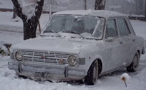 128 en la nieve ♥