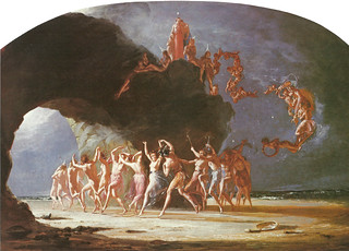 "Richard Dadd (1817-1896), ""Come unto these Yellow Sands"", 1842 
