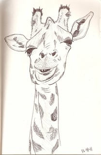 Smiling Giraffe | by Holli Joi