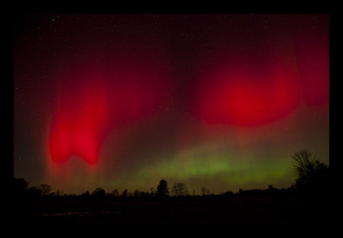 Northern Lights.... in Ohio?! | by Shane Michael Black