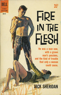 Dell Books B147 - Jack Sheridan - Fire in the Flesh | by swallace99