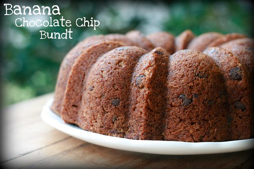 Banana Chocolate Chip - I Like Big Bundts 2011 | by Food Librarian
