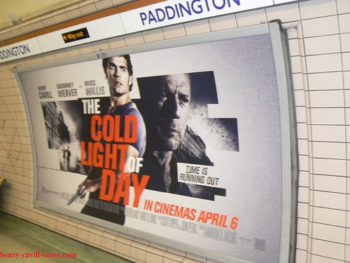 The-Cold-Light-of-Day-Starring-Henry-Cavill-UK-Subway-Promotional-Ad-Poster-01 | by Henry Cavill Fanpage