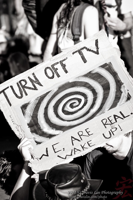 Occupy Sydney - Turn off TV