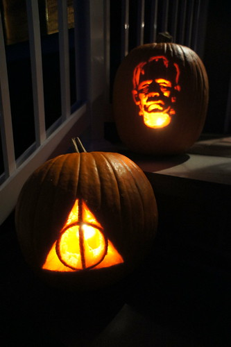 Deathly Hallows Symbol and Frankenstein Monster | by Lance Ulanoff