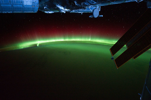 Aurora Australis Over Indian Ocean (NASA, International Space Station, 09/17/11) | by NASA's Marshall Space Flight Center