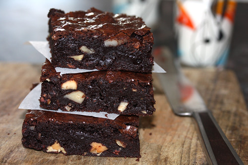 gluten-free brownies | by David Lebovitz