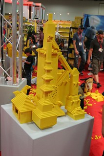 User created models at the LEGO booth - San Diego Comic Con - 2 | by fbtb