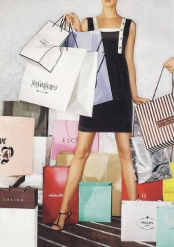 Fashion Designer Shopping Bag Cteate